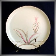 Winfield China Dragon Flower Dinner Plate & Continental Kilns Tropical Pair 1950s Dinner Plates : Copperton Lane ...