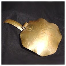 Craftsman Hammered Copper Silent Butler