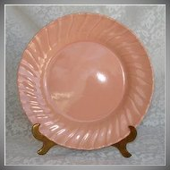 Franciscan Coronado Coral Gloss Pink Luncheon Plate
