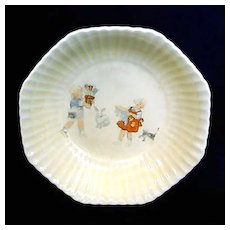 1920s Child's Antique Wheaties Cereal Bowl