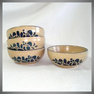 Pfaltzgraff Folk Art Fruit or Dessert Bowls Set of 4