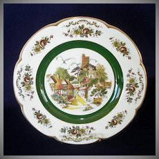 Ascot Village Service Plate Wood and Sons England, 2 Available