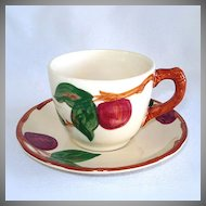 Franciscan Apple Cup and Saucer Set, 3 Available