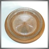 Heisey Ridgeleigh 11 Inch Low Centerpiece Bowl