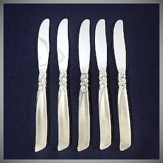 South Seas Oneida Silverplate Dinner Knife, 3 Available
