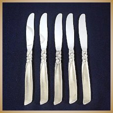 South Seas Oneida Silverplate Dinner Knife, 3 Available