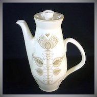 Franciscan Spice Coffee Pot