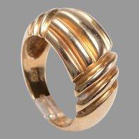 Bold 14k Unisex Ring
