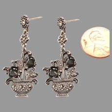 Whimsical Vintage:  Dangle Earrings