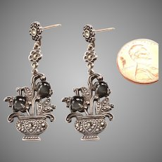 Whimsical Vintage:  Dangle Earrings