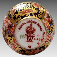 Royal Crown Derby Miniature