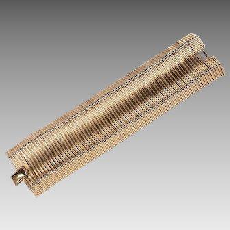 Slinky Retro Glamour Bracelet