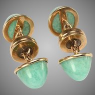14kt Gold Magnetic CUFF LINKS unisex