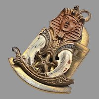 Egyptian Revival Paper Clip