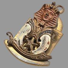 Egyptian Revival Paper Clip