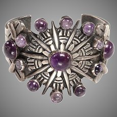 1950's Mexican Silver Cuff