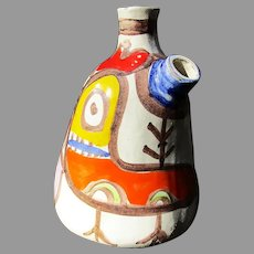1960's Italian Pottery Wine Jug: Desimone