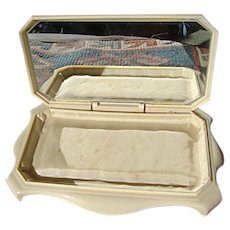 Vintage Celluloid Jewelry Display Box