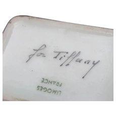 Trinket Box signed Limoges for Tiffany