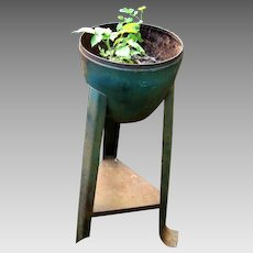 PAIR of Art Deco Garden Planters - sheet metal