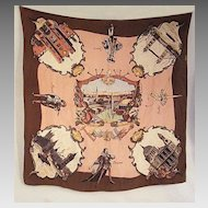 1951 Silk Commemorative Scarf