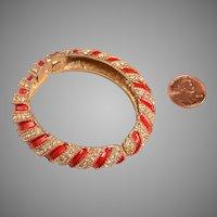 1960's Les Bernard Bangle Bracelet