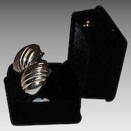 Vintage Tiffany Sterling Earrings