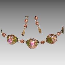 Vintage Venetian Bead Set