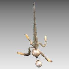 Antique Christmas Ornament:  Chandelier