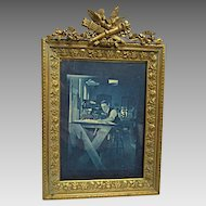 Fine, Cast Brass Table Frame c.1890's