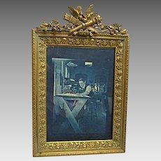 Fine, Cast Brass Table Frame c.1890's