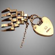 9kt English five bar Gate Bracelet