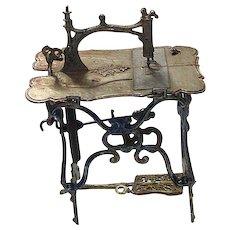German Doll House Mechanical Sewing Machine