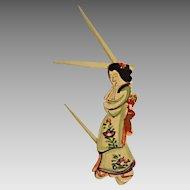 Vintage Oriental Grooming Tool