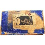 Late 1800's MAGIC LANTERN box with slides