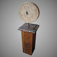 19th c. New England Mill Stone