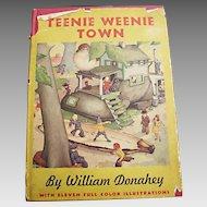 Vintage 1942 Children's Book: Teenie Weenie Town