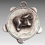Early 20th Century Texas Silver Charm