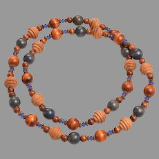 Who WOODn't Love Wearing this Necklace