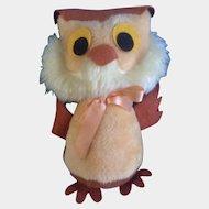 Mid-Century Owl Disney Winnie The Pooh Stuffed Plush Animal Walt Disney Distributing Co.