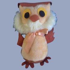 Vintage  Witty Owl Disney Winnie The Pooh Stuffed Plush Animal