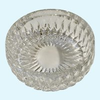 Stunning Gorham Althea Pattern Crystal Bowl 7-1/2""