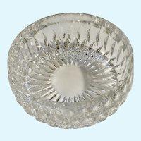 """Stunning Gorham Althea Pattern Crystal Bowl 7-1/2"""""""