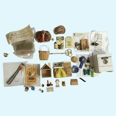 Dollhouse Miniatures Doll House Apartment Accessories Assortment