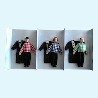 The Three Stooges Dolls Fun For All 1997 Limited Edition