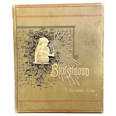 Brushwood By T. Buchanan Read Book of Poems Published 1882