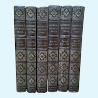 The Mother's Encyclopedia Six Volumes 1951 Edition Books Parents Institute