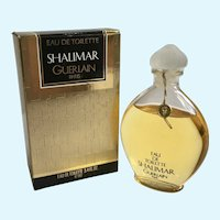 1984-1999 Guerlain Shalimar 3.4 oz eau de toilette Splash Sealed Bottle