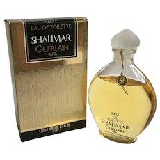 1984-1999 Guerlain Shalimar 3.4 oz eau de toilette Splash Sealed Bottle