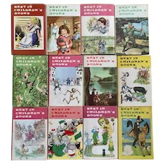 Best In Children's Books 12 Book Set Nelson Doubleday